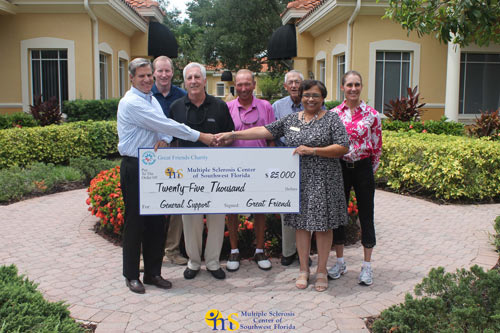 Great Friends Charity Of Naples Raises 25 000 For The Ms
