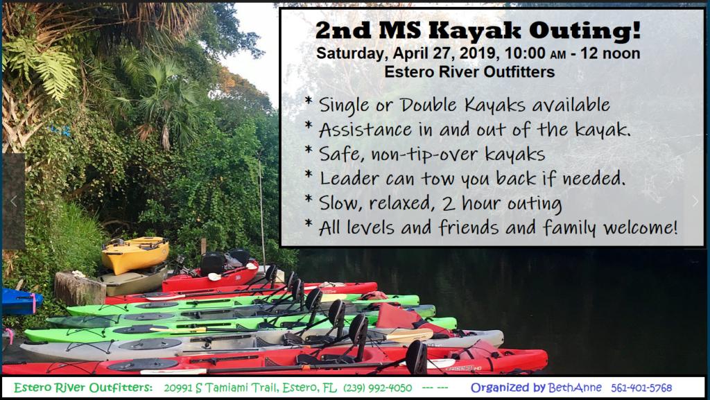 Kayak Outing 2019